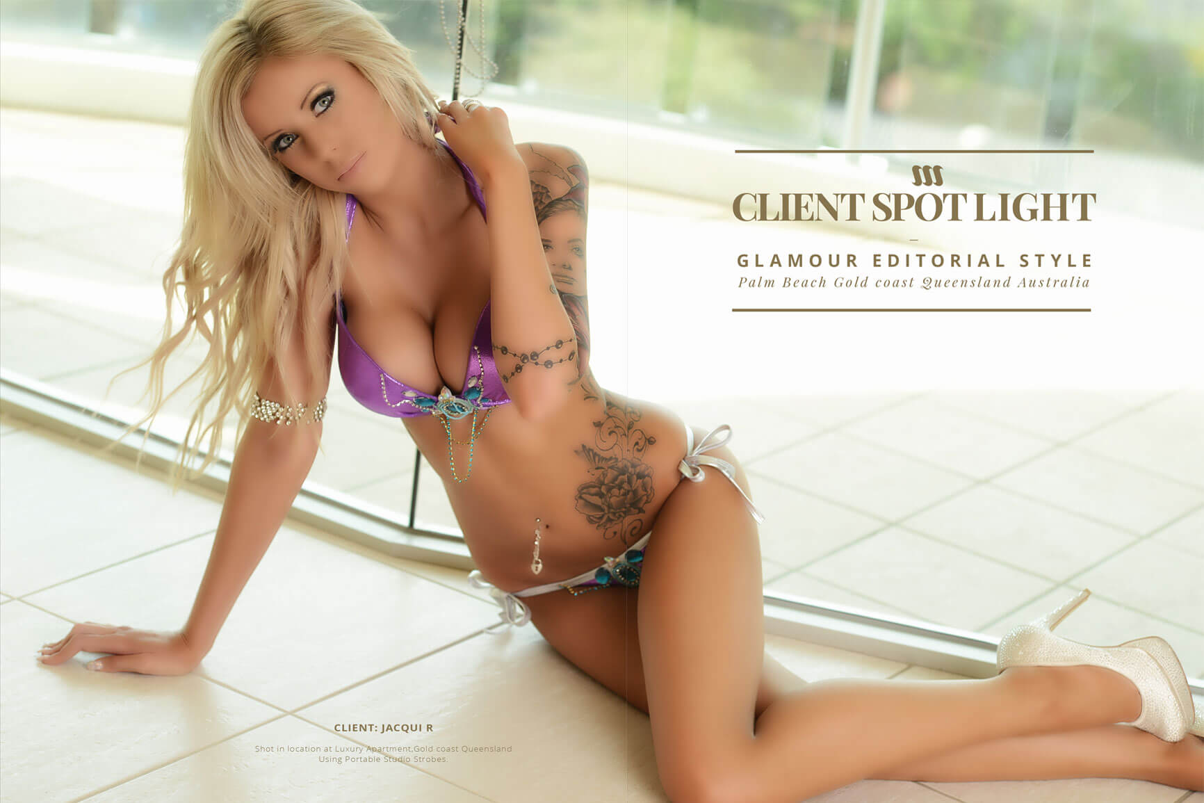 glamour photography sessions